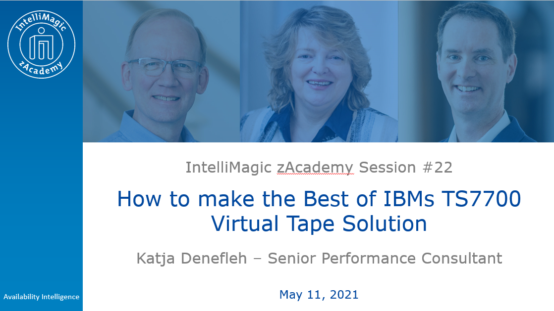 How to Make the Best of IBM's TS7700 Virtual Tape Solution