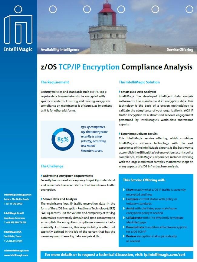 zOS Encryption Services Brochure