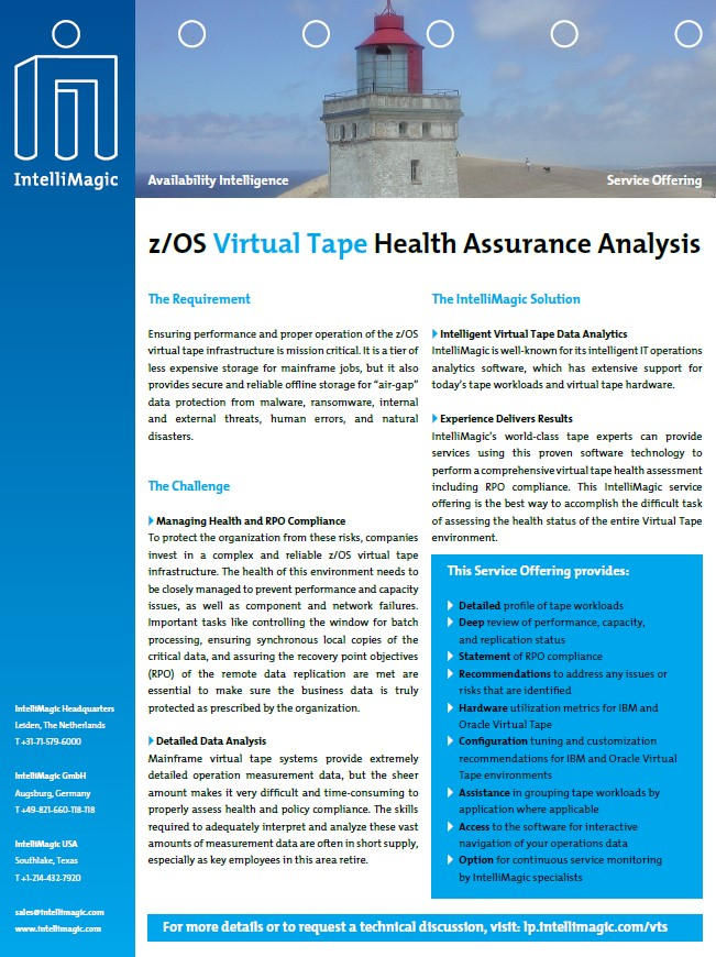 zOS Virtual Tape Services Brochure