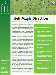 IntelliMagic Direction / Disk Magic