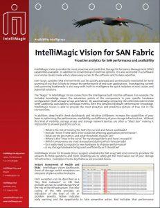 IntelliMagic Vision for SAN Fabric