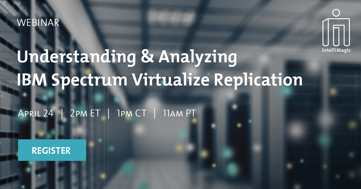 Understanding and ANalyzing IBM Spectrum Virtualize Replication