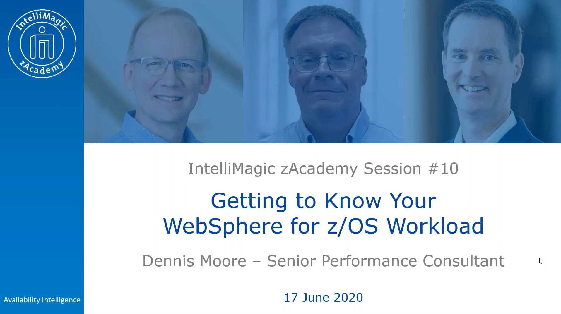 Getting to Know Your WebSphere for z/OS Workload