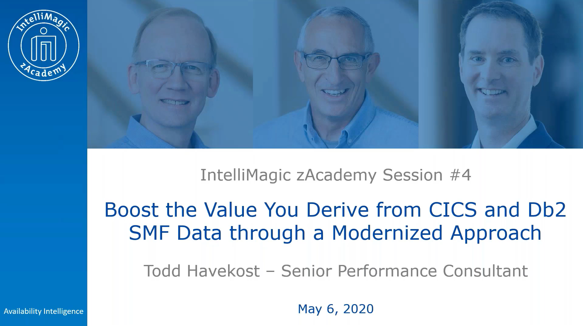 boost the value you derive from cics and db2 smf data - zacademy session thumbnail