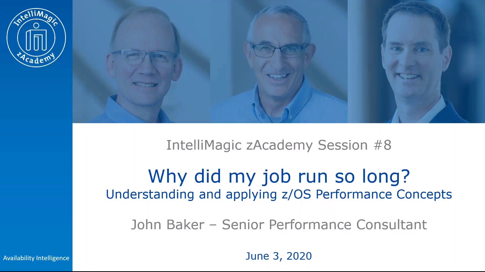 zAcademy: Why did my job run so long? Understanding and applying z/OS Performance Concepts